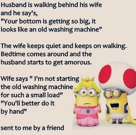 Husband joke