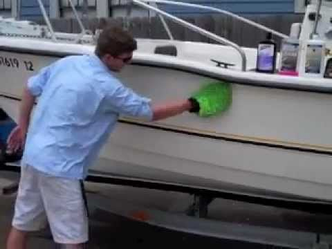 The Best Boat Detailing Ever - YouTube