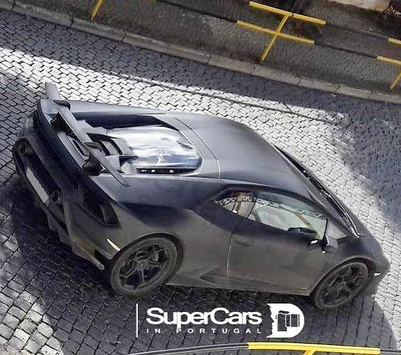 Best look yet at the upcoming Lamborghini Huracan Performante. This is a very close representation of the car and not the final product (I am told)... Looking forward to seeing the actual beast unveiled in Geneva  Photo by @supercarsinportugalofficial  #lamborghini #huracanperformante