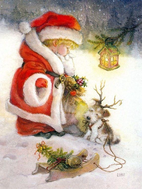 Новогодние иллюстрации Lisi Martin