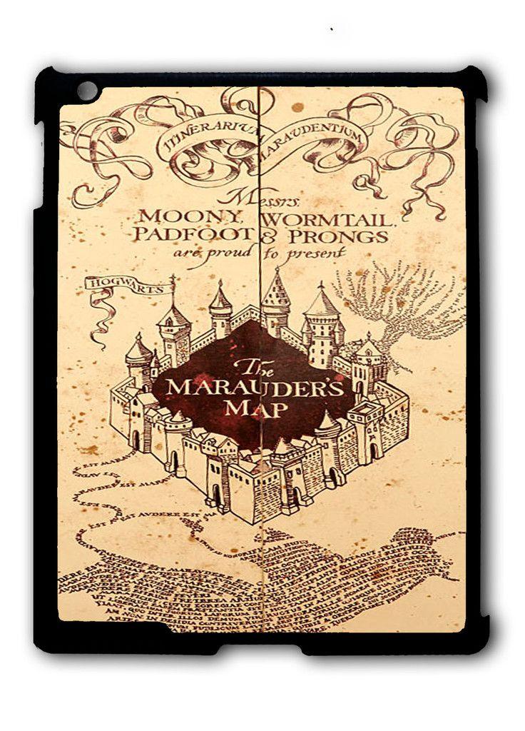 Harry Potter Inspired Marauders Map iPad case, Available for iPad 2, iPad 3, iPad 4 , iPad mini and iPad Air
