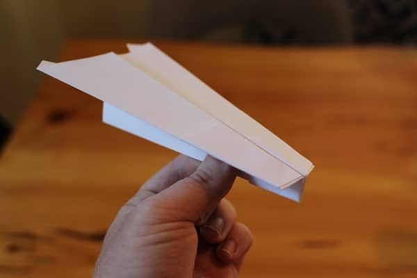 There are certain things every dad should pass on to their children - learning how to make paper airplanes is one of them. Choose one of three designs and take flight!