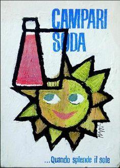 Campari - Posters di Piatti Celestino - 1950 ca