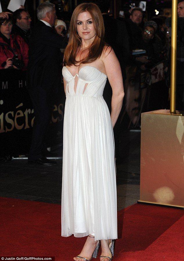 Isla Fisher: Willow - Les Mis Premier