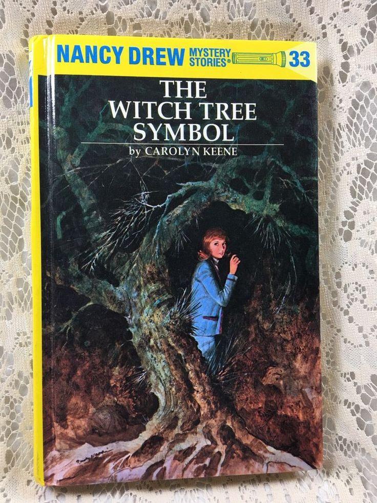 Nancy Drew #33 The Witch Tree Symbol Mystery Flashlight Series Hardcover Book  #NancyDrewMysteryStories