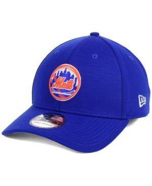 New Era New York Mets Team Pennant 39THIRTY Cap - Blue L/XL