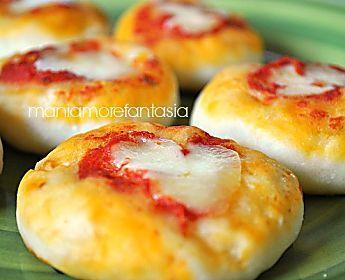 Pizzette per buffet | ricetta mani amore e fantasia blog