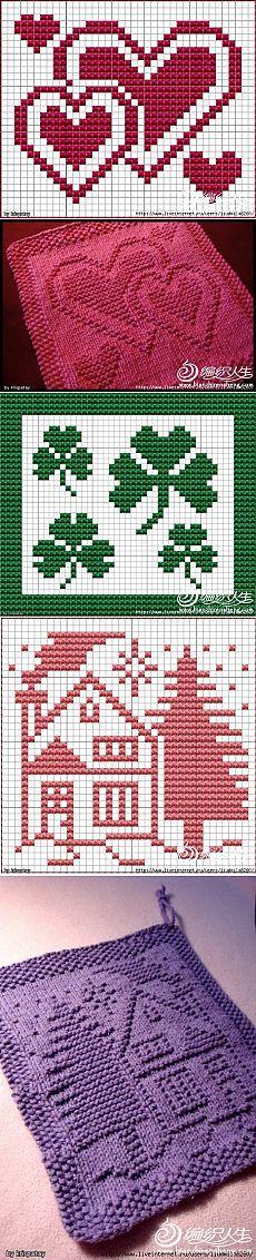 Dish cloth pattern