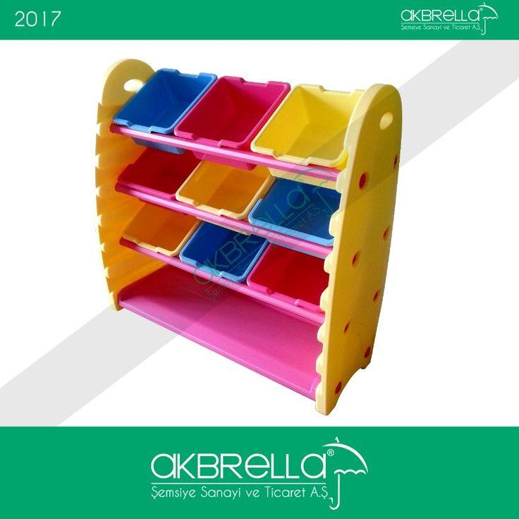 Çocuğunuzun minik oyuncaklarını yerleştirebileceğiniz plastik oyuncak saklama kapları, çocuğunuza düzenli olma alışkanlığı da kazandıracak. #bedengeliştiricioyuncaklar #fizikgeliştiricioyuncaklar