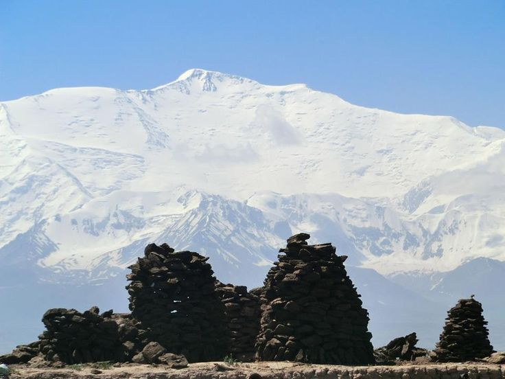 Lenin Peak, rises to 7,134 metres in Gorno-Badakhshan on the border of Tajikistan and Kyrgyzstan, and is the second-highest point of both countries.