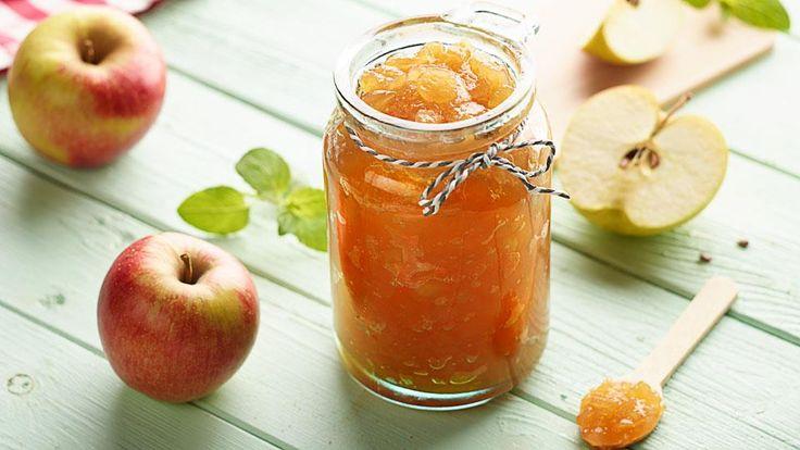 Aromatyczna jabłkowa konfitura