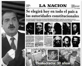 EFEMERIDES: 30 de octubre de 1983, el día que recuperamos la Democracia en Argentina