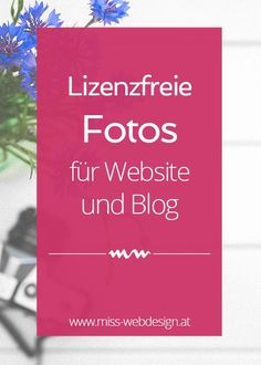 5 inspirierende Plattformen für lizenzfreie Fotos, die du kennen solltest | http://miss-webdesign.at