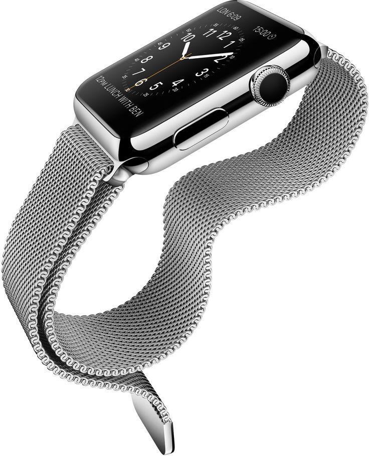 Apple Watch, la montre connectée à l'heure de Cupertino - Web des Objets