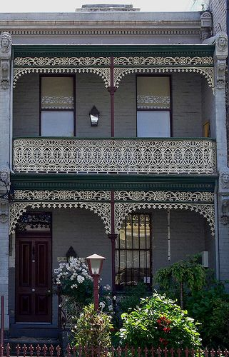 a Victorian terrace house in Melbourne