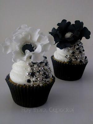 fancy pants cupcakes.