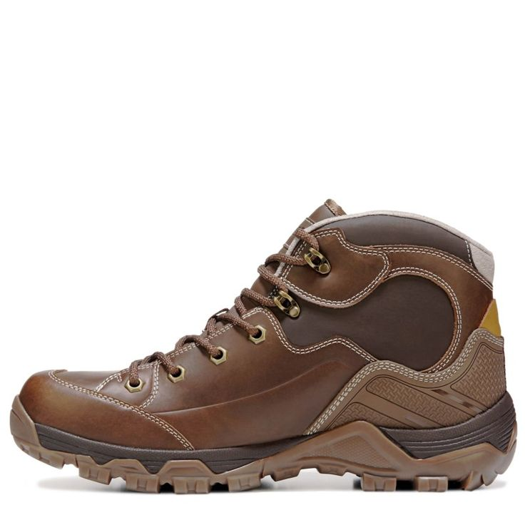 Hi-Tec Men's Ox Discovery Mid Top i Waterproof Hiking Boots (Brown)
