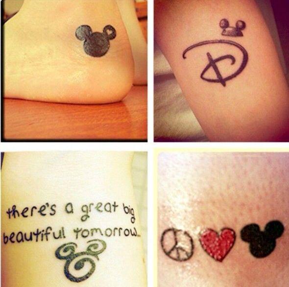 Cute Disney tattoos | Disney Ink | Pinterest | Disney ...
