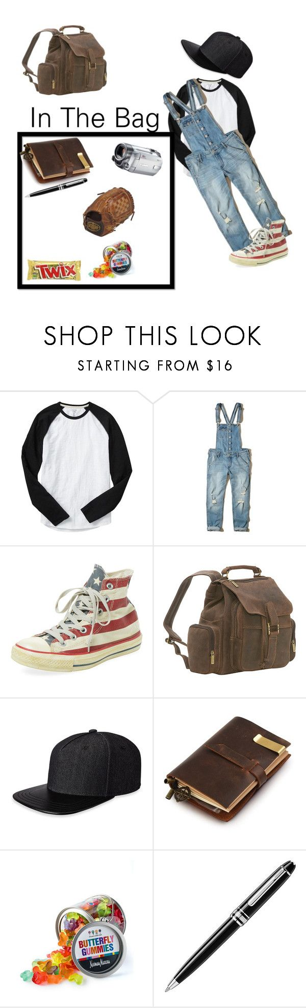 """Daughter Of Castiel (12)"" by georgiaearnest ❤ liked on Polyvore featuring Gap, Hollister Co., Converse, Le Donne, Gents, Fountain, Dylan's Candy Bar, Montblanc and Louisville Slugger"