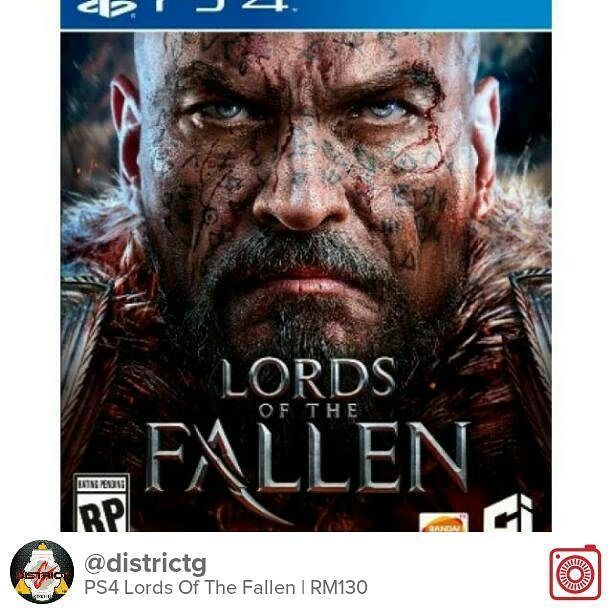 Selling PS4 Lords Of The Fallen for RM130.  Chat with me on Carousell to get it! Download the free app now by tapping the link on @carousell_my have fun! #carousell #carousellMY #sayajual #sayajualmurah #jualanku #bazaarpaknil #malaysia #festival #sayajualonline #streetfashion #lokalah #malaysiaonlineshop #bazaar #bazaaronline #sapotlokal #lokalbrand #ps4 #ps4pro #ps4games #playstation #playstation4