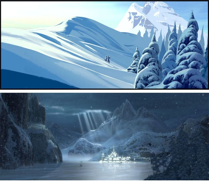 Mais artes e novo trailer de Frozen, da Disney | THECAB - The Concept Art Blog