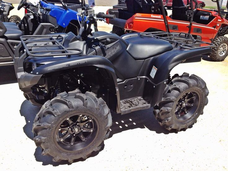 Yamaha grizzly 700 special edition with wheels tires for Yamaha kodiak 700 top speed