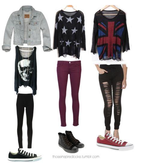 Rocker Outfit Damen. 17 best ideas about outfit mit rock on ...