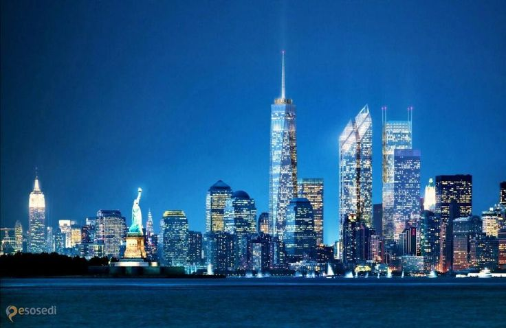 Башня Свободы (Freedom Tower) – #Соединённые_Штаты_Америки #New_York (#US_NY) Всемирный торговый центр 1 http://ru.esosedi.org/US/NY/1000118616/bashnya_svobodyi_freedom_tower_/
