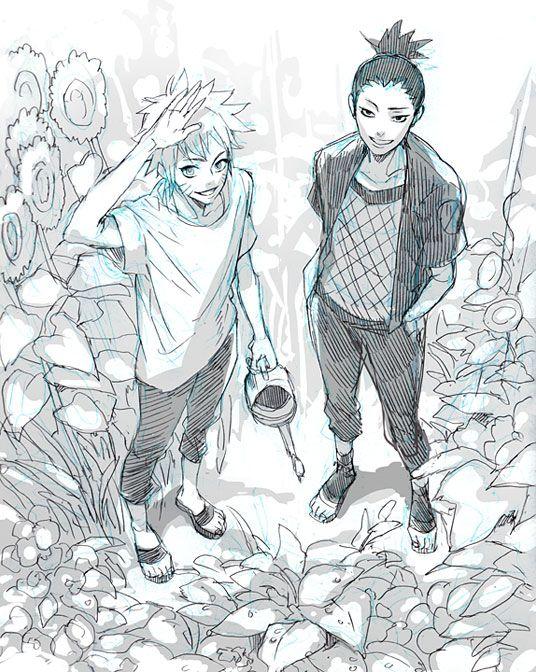 Shikamaru and Naruto                                                                                                                                                      Plus
