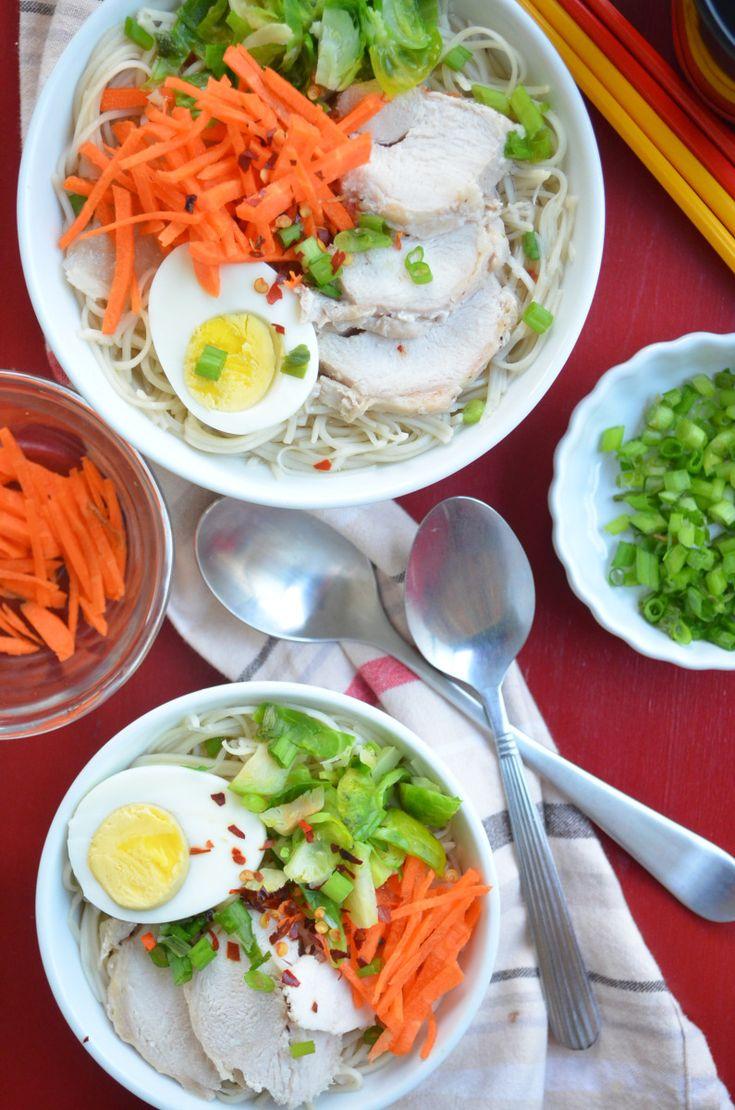 Chicken Mami (Chicken in Egg Noddle Soup)