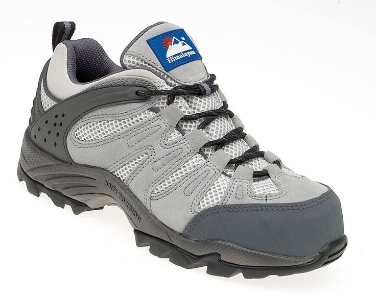 4032:  Ladies Grey Trainer.  This all composite style makes it lighter than steel and ideal for areas where metal detectors are in use. It's S1P with midsole and it's SRC rated (the highest possible slip rating).  The Gravity sole unit helps to torsion the footwear to help prevent ankle twists.  It's anti-static properties and oil resistance give you have a great looking ladies boot with safety very much in mind.  Also in dark Grey (4033).  Sizes 3 - 8  RRP £54.95
