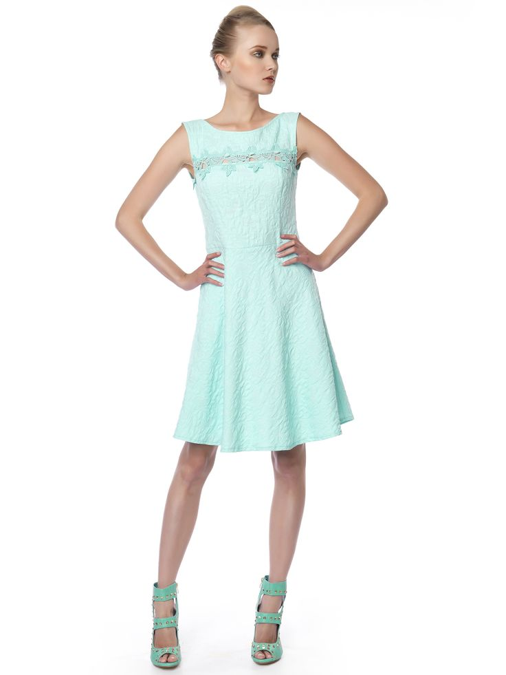 #mint_cocktail_dress is your next choice for the #summer