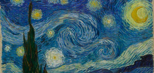 Van Gogh starry night Arts