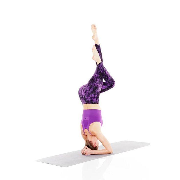 Одежда для фитнеса Танцы, гимнастика, йога - Леггинсы yoga+ Жен. DOMYOS - Йога и пилатес