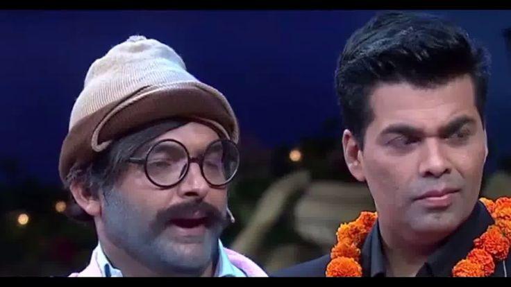 Rajesh Arora as chacha of karan johar| The kapil Sharma show