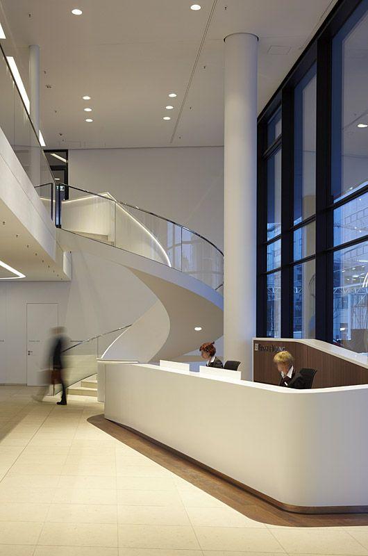 die besten 17 ideen zu b roempfang auf pinterest empfangsdesign empfangshalle und lobby design. Black Bedroom Furniture Sets. Home Design Ideas