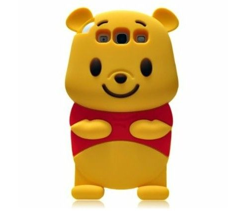 3D Cartoon Bear Silicone Case for Samsung Galaxy S3 III i9300