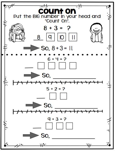 Math Strategies to help your students quickly answer math facts...