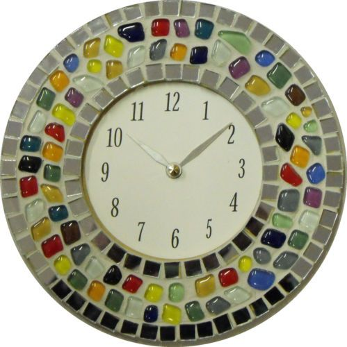 Mosaic Clock Kit - A complete mosaic kit - No cutting required   eBay