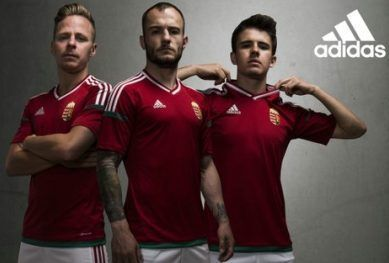 Hungary EURO 2016 adidas Home and Away Kits