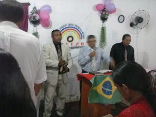 Pr. Antonio Carlos Justino Silva : Aniversario da Igreja Primitiva de Deus em Barcare...