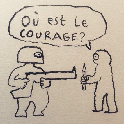 En hommage à Charlie Hebdo, les dessinateurs du monde entier prennent la plume -Joann Sfar