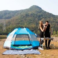 5-6-7-8 Person Man Tent Hot Sale Hexagonal Lightweight Backpacking 4 Season Camping Hiking Tents