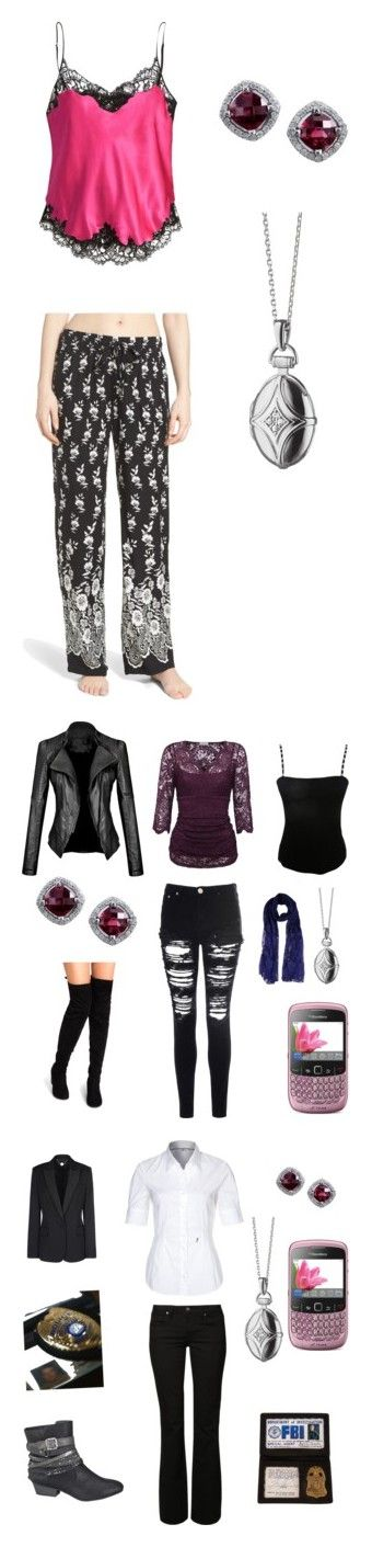 """""""blue bloods and criminal minds"""" by numbe3rsfan ❤ liked on Polyvore featuring Givenchy, P.J. Salvage, Monica Rich Kosann, Glamorous, Twin-Set, Jean Muir, Kaliko, Mavi, Seidensticker and POLICE"""