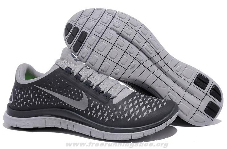 sports shoes 040d2 a051a ... Argent Nike Free 3.0 V4 Mens 511457-002 Anthracite Reflect Silver Wolf    other   Pinterest Nike Free 5.0 V4 Hommes,running ...