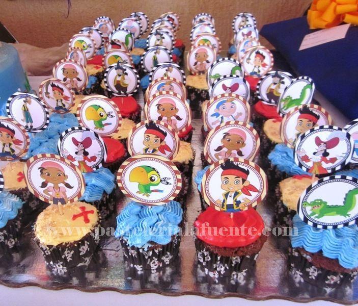 Cupcakes Jacke y los piratas