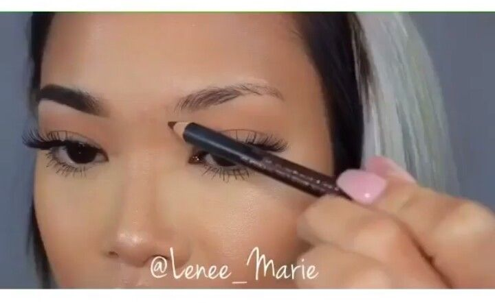 Don't be fooled... They're drawing them in... Invasive ways to remove eyebrow hair such as waxing, tweezing, plucking and threading immediately and overtime causes permanent eyebrow hair loss (causing eyebrows to grow in sparse)