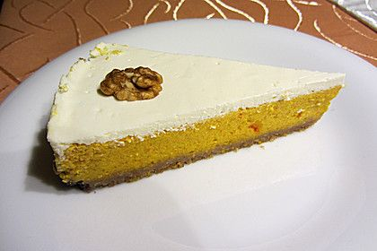 Kürbis-Frischkäse-Kuchen