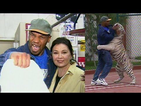 A Look Back: Mike Tyson Wrestles His Tiger at Mansion for Roseanne Barr - https://www.pakistantalkshow.com/a-look-back-mike-tyson-wrestles-his-tiger-at-mansion-for-roseanne-barr/ - http://img.youtube.com/vi/Wn_bMZQ60cY/0.jpg