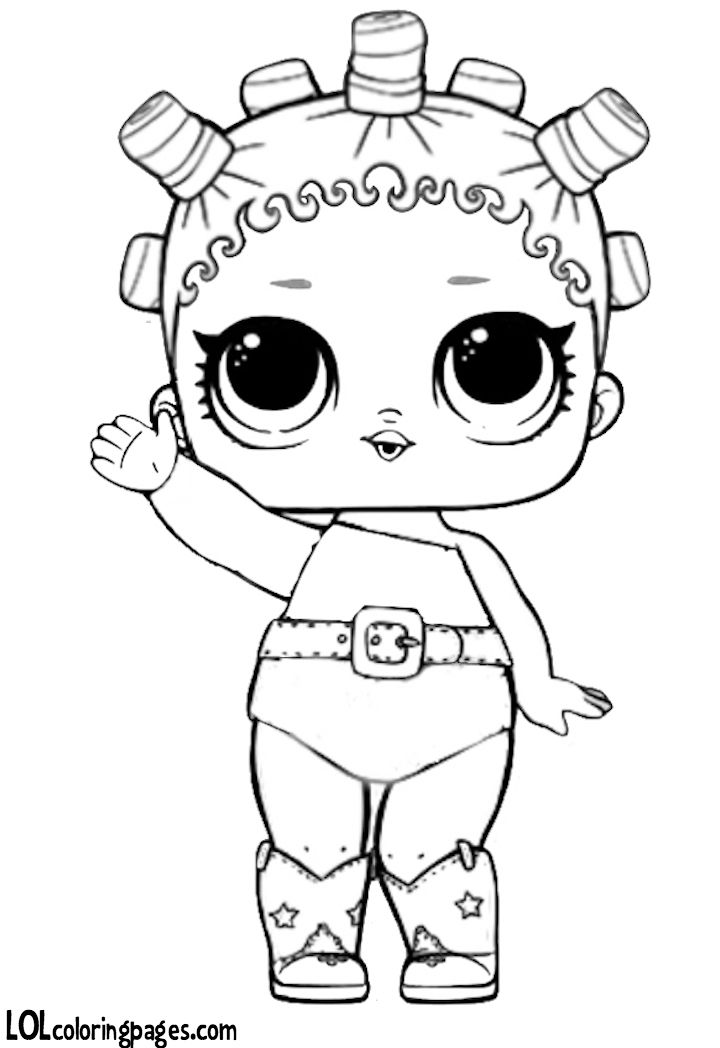 Click To Download Coloring Sheet Lol Dolls Coloring Pages Colouring Pages